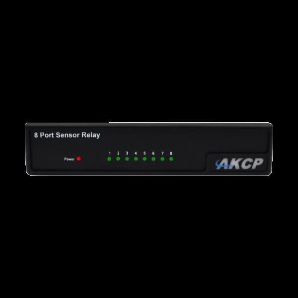AKCP sensorgesteuertes 8-fach Relais