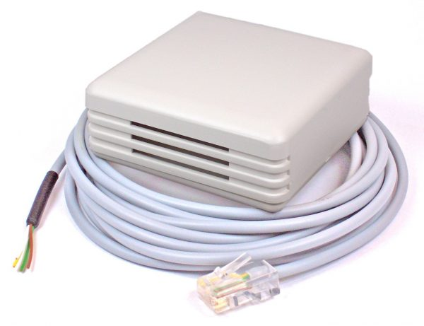 MessPC Sensor Temp./Luftfeuchte Wandmontage