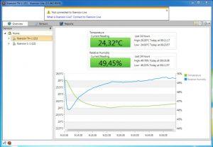 Xsensior Lite USB Temperatur- / Luftfeuchtigkeitssensor