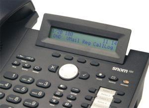 snom 320 - VoIP Telefon (SIP)