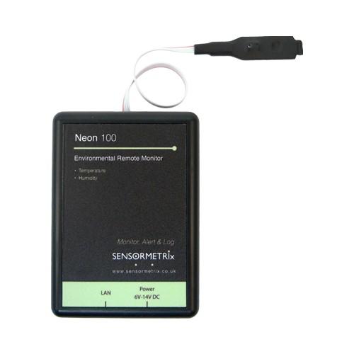 Neon 110 - Netzwerksensor für Temperatur und Luftfeuchtigkeit