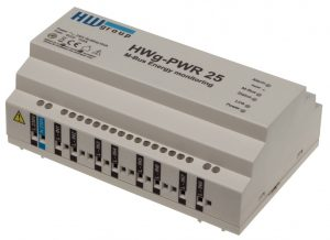 HW group HWg-PWR 3 / 12 / 25 M-Bus Ethernet Gateway