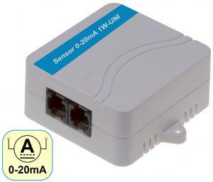 HW group Sensor 0-20mA 1W-UNI