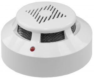 Zertico Sensoreinheit Rauch, Temperatur und Luftfeuchtigkeit