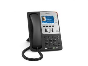 SNOM 821 VOIP Telefon (SIP) Farb-Display/PoE Gigabit Black