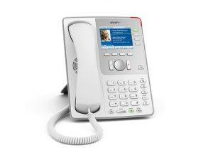 SNOM 821 VOIP Telefon (SIP) Farb-Display/PoE Gigabit Grau