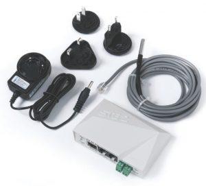 HW group STE2: Netzwerkthermometer