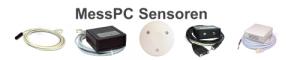 MessPC Sensoren